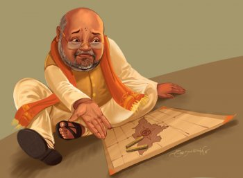 அமித் ஷா வியூகம் - பி.ஜே.பி பிளான் என்ன?