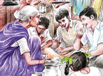 இல்லாதவர்கள் தந்த அமுதம் - சிறுகதை
