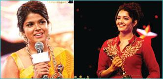 விகடன் சினிமா விருதுகள் விழாவின் வெற்றிப் பெண்கள்