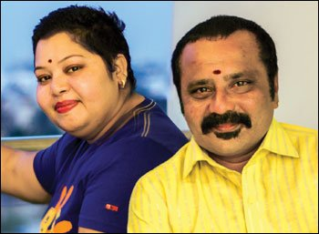நாங்க தல-தளபதி ரசிகருங்க! - ஆர்த்தி - கணேஷ்