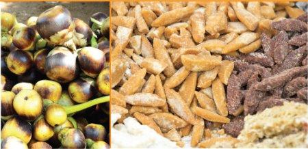 சரித்திர விலாஸ் - இன்றைய மெனு - பனை உணவுகள்