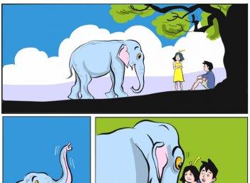 ஜீபாவின் சாகசம் - தூக்கப் புற்கள்!