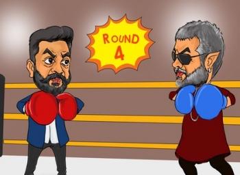 தூங்காவனம் vs வேதாளம்; சினிட்டூன்