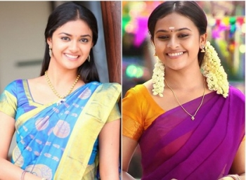 Keerthi Suresh Top Expressions In GIFs - Forgot SriDivya?
