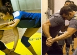 Yoga Anushka Vs Gym Salman.. Sultan Fitness secret