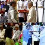 பத்ம விருதைப் பெற்றார் ரஜினி! ராஜமெளலி, சானியாமிர்சாவுக்கும் விருது!