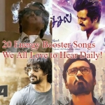 twenty Energy Booster Songs we all love to hear