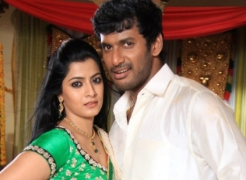 Selfie of  actor Vishal and varalakshmi goes viral