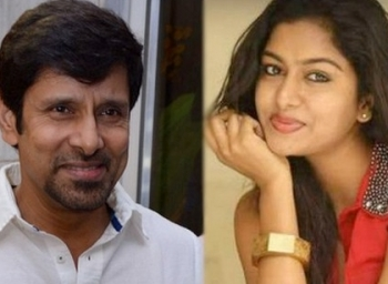 how did vikram's Daughter engaged Karunanidhi's Great GrandSon