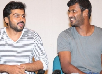 Vishal quits diwali race for karthi