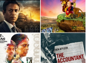 Movies releasing on fourteenth october