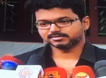 Actor Vijay comments on Rs 500 and Rs 1000 currency notes demonetisation