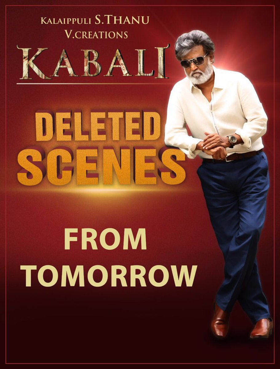 Kabali Movie Deleted Scenes