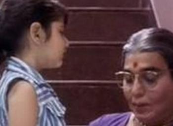 Where is Avvai Shanmugi baby actress?