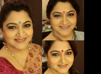 Actress Kushboo acting in Telugu movie after 9 years