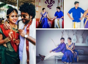 These are the similarities in Anjana, Diya, Amit bhargav and Mynaa Nandhini's wedding