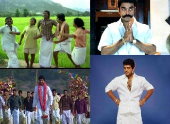 Mass Dhoti scenes in Tamil Cinema