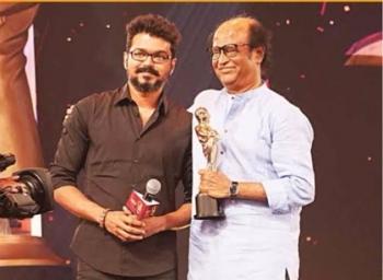 விகடன் பற்றி விஜய்.. ரஜினியாய் மாறிய சிவகார்த்திகேயன்! #AnandaVikatanCinemaAwards