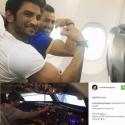 'தோனி' சுஷாந்த் சிங்... இப்போ பைலட்! #BollywoodBits