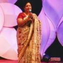 ''நந்தினி பேய்க்கு டப்பிங் பேசுனது செம காமெடி!'' -  அனுராதா