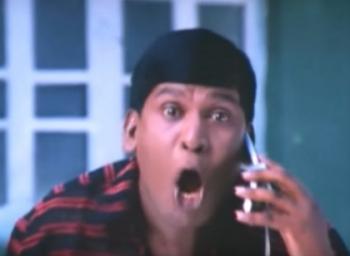 'வேணாம் அது உயிர்நாடி!' - ஸ்போர்ட்ஸ் காட்சிகள் ஆஃப் தமிழ் சினிமா! #VikatanFun