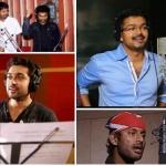 விஜய், விஷால் முதல் விஜய் சேதுபதி வரை..!  நடிகர்கள் பாடிய முதல் பாடல் #HeroesAsSingers