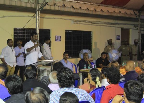 டிவி ஒளிபரப்பு - விஷால் பேட்டி