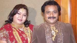 'பிக் பாஸ்' ஆர்த்தி கணவர் கணேஷ்கருடன்