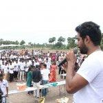 ``எல்லோரையும் இயற்கைக்கு மாற்றுவோம்!''- `ஜல்லிக்கட்டு' ஆரி இப்போ 'விவசாயி' ஆரி!