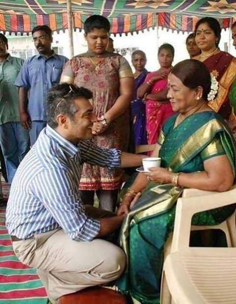 அஜித்துடன் மனோரமா