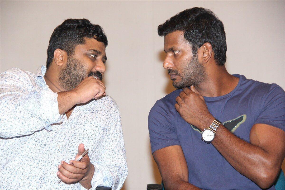 விஷாலுடன் ஞானவேல்ராஜா