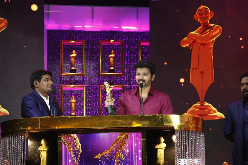 Vijay in Vikatan Awards