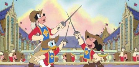 'மூன்று முட்டாள்களின் வீர சாகசங்கள்' - #MickeyDonaldGoofyTheThreeMusketeers #MovieRewind