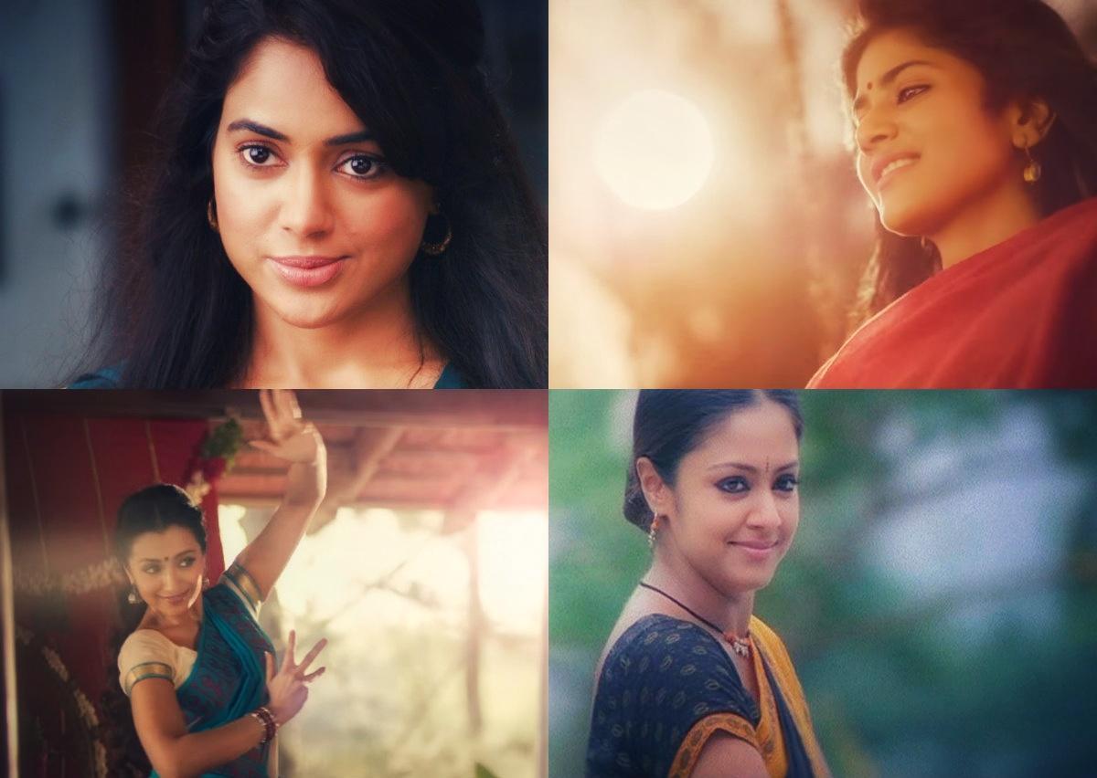 சமீரா ரெட்டி - மேகா ஆகாஷ் - த்ரிஷா - ஜோதிகா