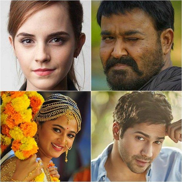 """''வருண் தவானின் 'ரான் பூமி', 'பானுமதி' அனுஷ்கா, மோகன்லால் - நிவின் காம்போ..."""" #WoodBits"""