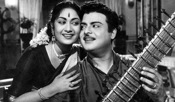 ஜெமினி கணேசன் - சாவித்ரி