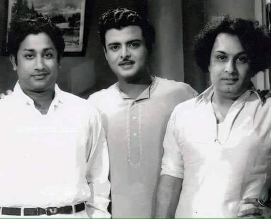 எம்ஜிஆர், சிவாஜியுடன் ஜெமினி கணேசன்