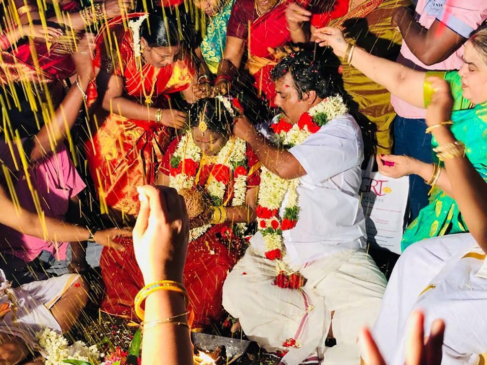 நடிகர் முண்டாசுப்பட்டி ராம்தாஸ் திருமணம்