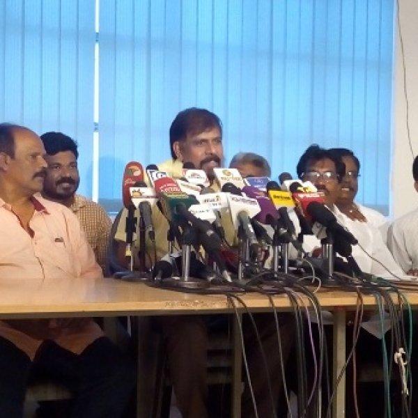 """""""இது தொடர்ந்தால்,  இன்னொரு பாலசந்தரோ பாரதிராஜாவோ கிடைக்கமாட்டார்கள்!"""" - ஆர்.கே.செல்வமணி #TamilCinemaStrike"""