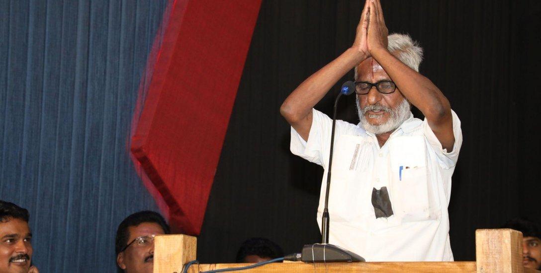 ''டிராஃபிக் ராமசாமி உயிருடன் இருக்கும்போதே அவரை கெளரவப்படுத்தியதற்கு நன்றி..!'' - கமல்