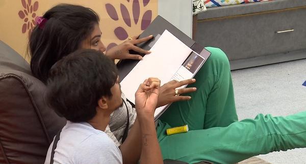 பிக் பாஸ் ரித்விகா - ஷாரிக்