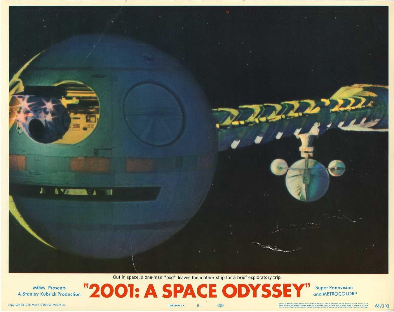'2001: A Space Odyssey' movie