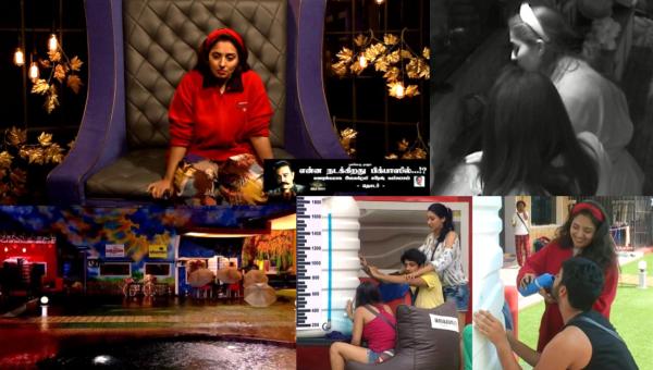 பிக்பாஸின் அண்டர் வாட்டர் ஆபரேஷன்... அண்டர் கவர் ஆபிஸர் மும்தாஜ்! #BiggBossTamil2