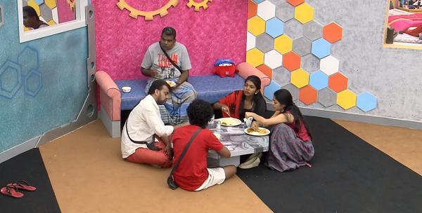பொன்னம்பலம் - பாலாஜி - ஜனனி- ரித்விகா