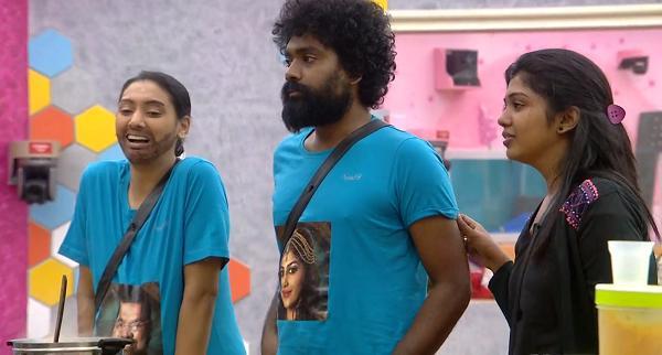 வைஷ்ணவி - டேனியல் - ரித்விகா