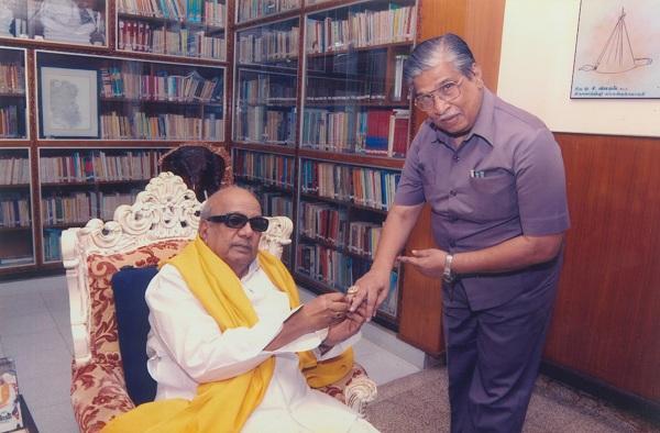 கலைஞர் கருணாநிதி - சண்முகநாதன்