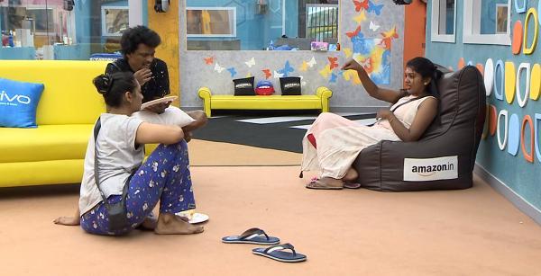 ரிதிவிகா - வைஷ்ணவி - பிக் பாஸ்