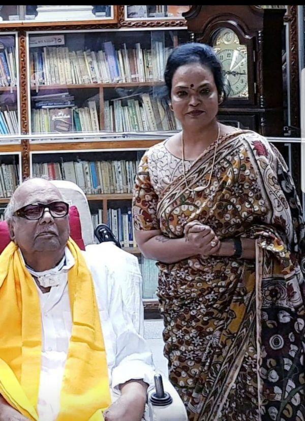 கருணாநிதி - கலா மாஸ்டர்