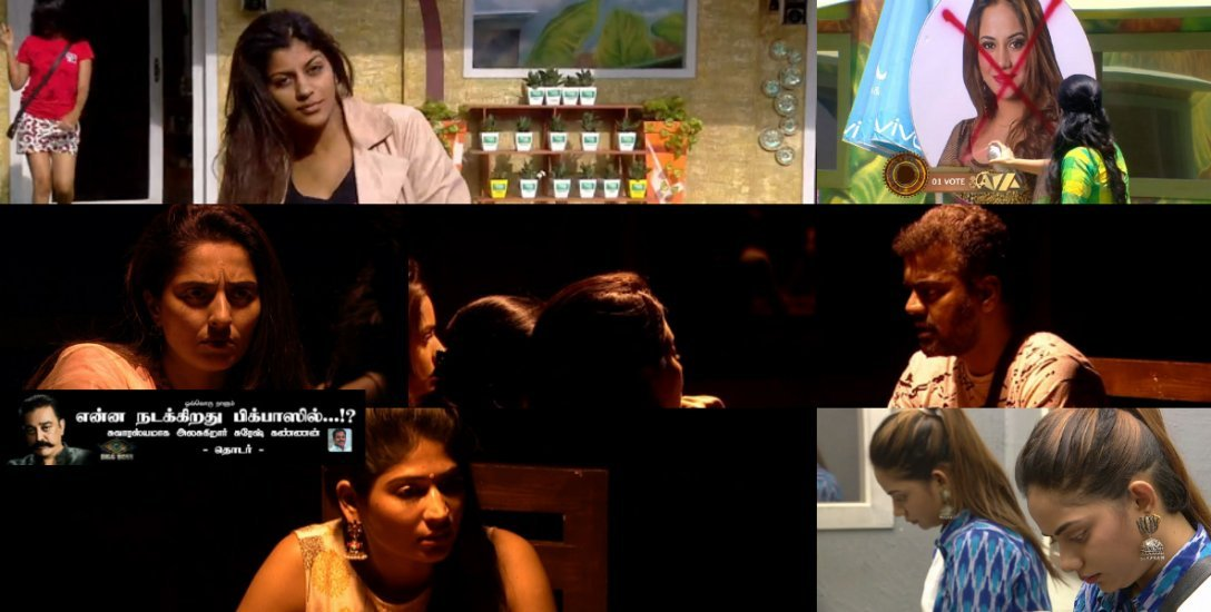 இருட்டு அறையில் முரட்டு நாமினேசன்... ஐஷ்வர்யாவுக்கு செம்ம செக்...! #BiggBossTamil2