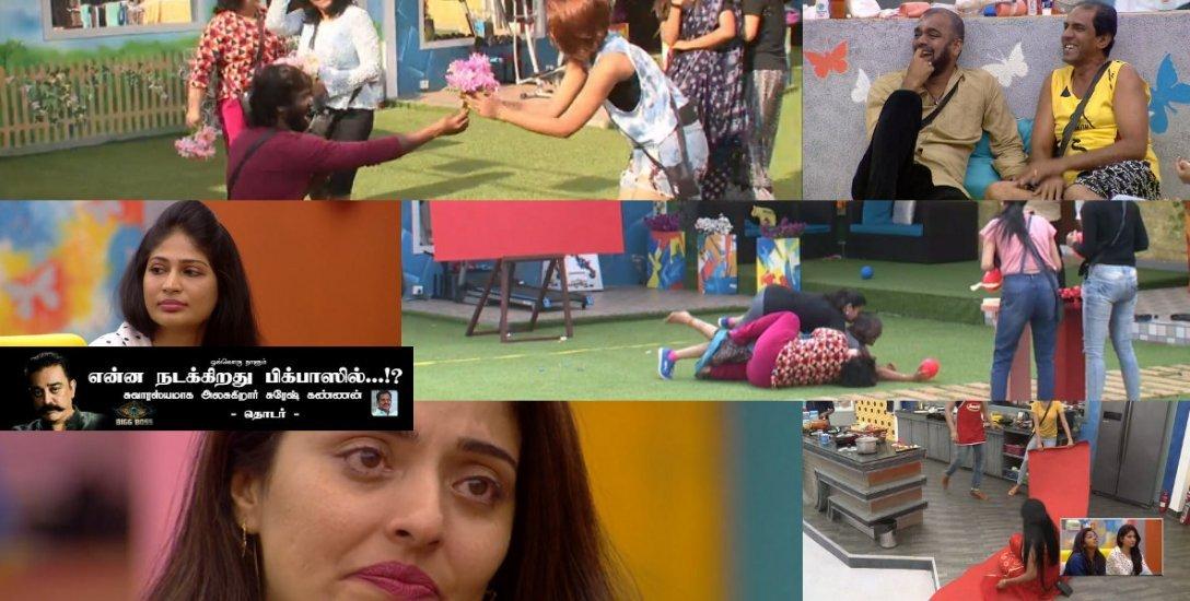 `தடவியலாளர்' சினேகன் இஸ் பேக்... மிஸ் யூ ஓவியா! #BiggBossTamil2